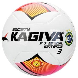 Bola Futebol Kagiva F7 Brasil Sintética Nº 3 Society b2221c2558d0b