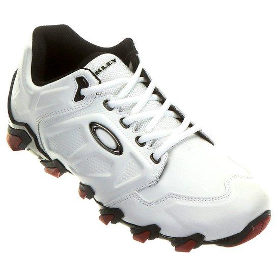 Tênis Oakley Teeth 4 - Branco+Vermelho 10602c96b5ae6