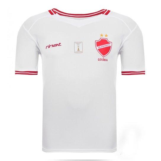 9de70c096fd4d Camisa Oficial Vila Nova Modelo Ii Super Bolla - Branco+Vermelho