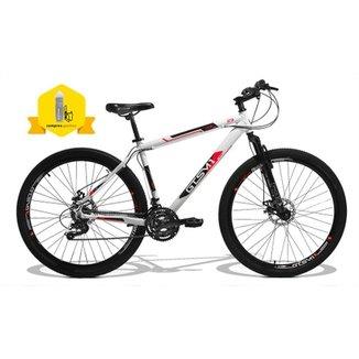 87d013730f64b Bicicleta Gts Walk New Aro 29 Freio Disco Câmbio Traseiro Shimano 24 Marchas  E Amortecedor