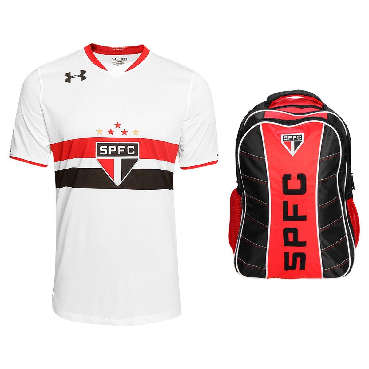 b0cf253f0ccf5 Kit Camisa Under Armour São Paulo I 2015 s n° + Mochila São Paulo