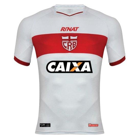 Camisa Rinat CRB I 2018 Nº10 Feminina - Branco+Vermelho 4e2e276df7675