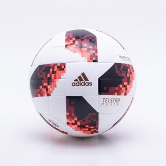 795998386947a Bola de Futebol Campo Adidas Telstar 18 Top Replique Mata-Mata Copa do  Mundo FIFA