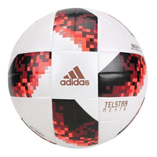 Bola de Futebol Society Adidas Telstar 18 Réplica Mata-Mata Copa do Mundo  FIFA - f09548d320cb7