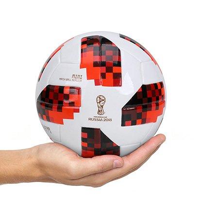 Mini Bola Adidas Telstar 18 Réplica Mata-Mata Copa do Mundo FIFA
