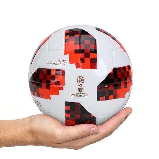 Mini Bola Adidas Telstar 18 Réplica Mata-Mata Copa do Mundo FIFA - Branco+ dc806d4575b29