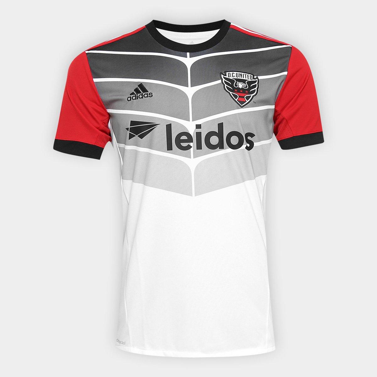 5d94550959 Camisa DC United MLS Away 17/18 s/n° Torcedor Adidas Masculina