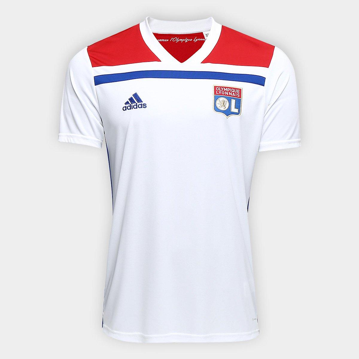 Camisa Lyon Home 2018 s n° - Torcedor Adidas Masculina cb2db56988b66