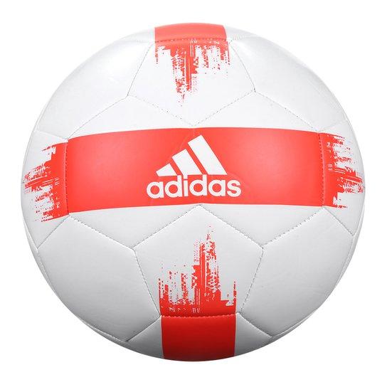 Bola de Futebol Campo Adidas EPP II - Branco e Vermelho - Compre ... c165eedf1a048