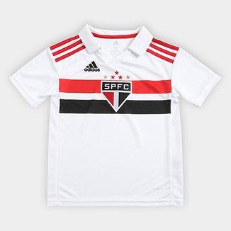 5aae9b4434 Camisa São Paulo Infantil I 2018 s n° Torcedor Adidas