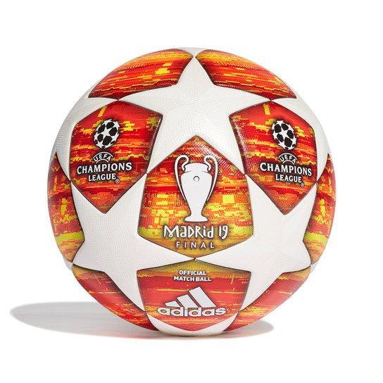 45a16b0634744 Bola de Futebol Campo Adidas Uefa Champions League Finale 19 -  Branco+Vermelho