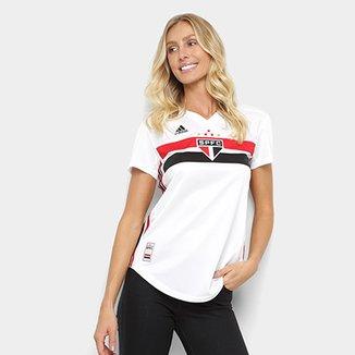 8c579b3957535 Camisa do São Paulo I 19 20 s n° Torcedor Adidas Feminina