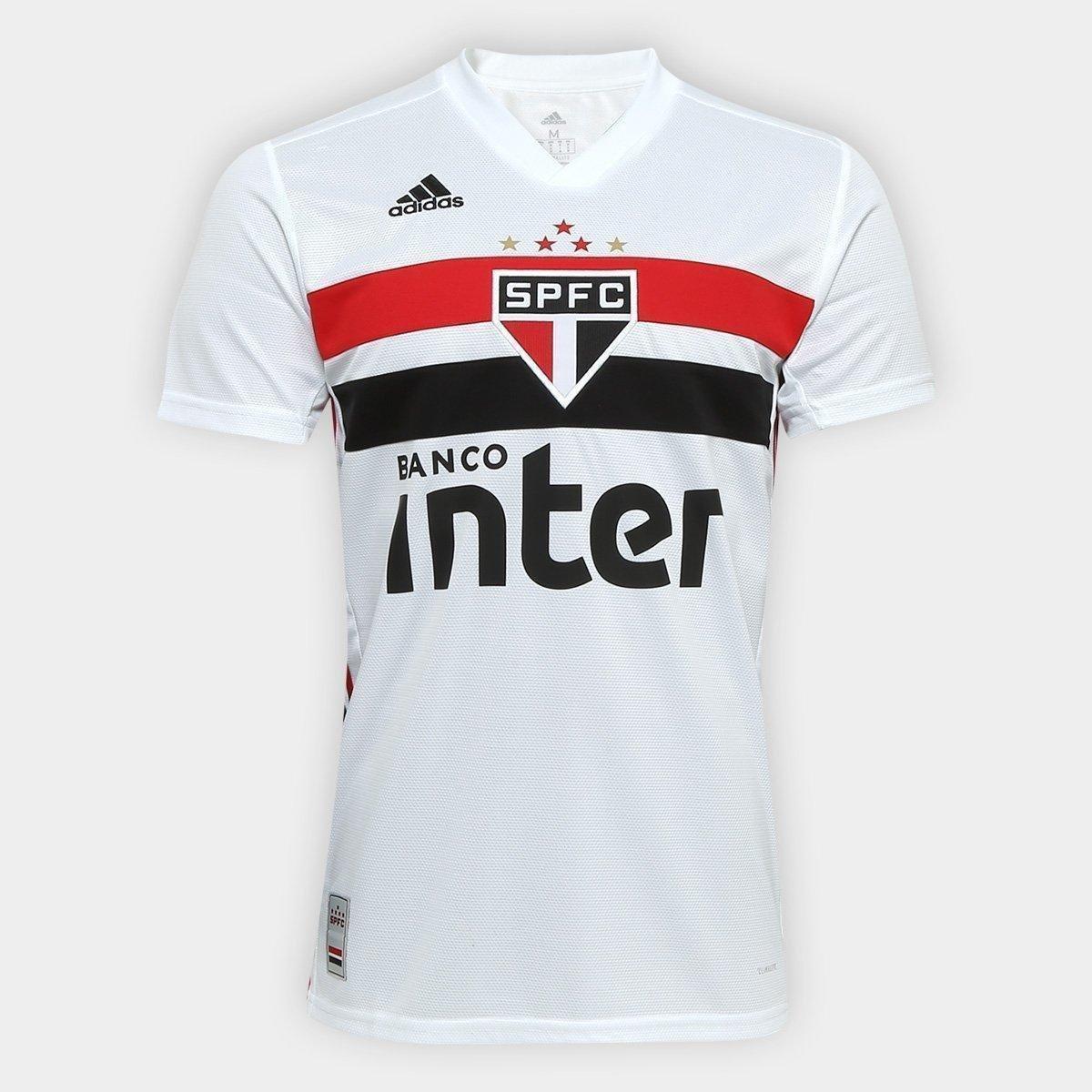 8414fb3980 Camisa São Paulo I 19/20 s/n° Torcedor Adidas Masculina