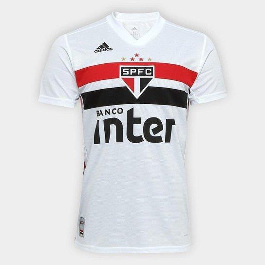 bc3917232 Camisa São Paulo I 19 20 s n° Torcedor Adidas Masculina - Branco e ...