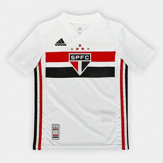 517bde6d100 Camisa São Paulo Infantil I 19 20 s n° Torcedor Adidas