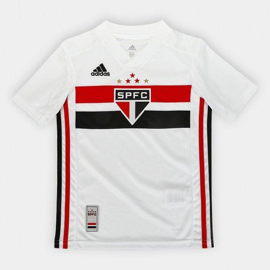 2aa1e25e09 Camisa São Paulo Infantil I 19 20 s n° Torcedor Adidas - Branco e ...