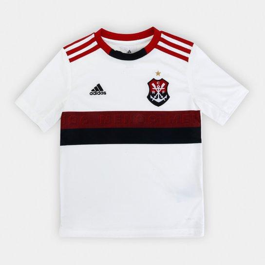 41f6ddef30 Camisa Flamengo Infantil II 19/20 s/nº Torcedor Adidas - Branco+Vermelho