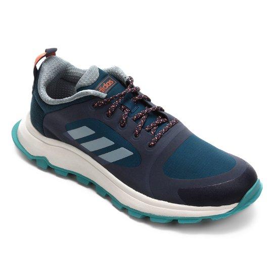 96807cd72f Tênis Adidas Response Trail Feminino - Azul Petróleo e Azul   Netshoes