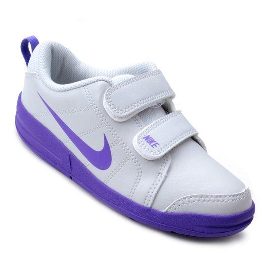19a86d86484 Tênis Infantil Nike Pico Lt - Cinza e Roxo - Compre Agora