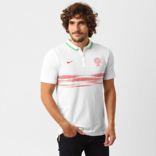 Camisa Polo Nike Seleção Portugal League Authentic - Compre Agora ... 381557b6ed6c3