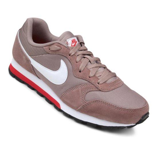 Tênis Nike Md Runner 2 Masculino - Branco e Vermelho - Compre Agora ... 7d063801063e5