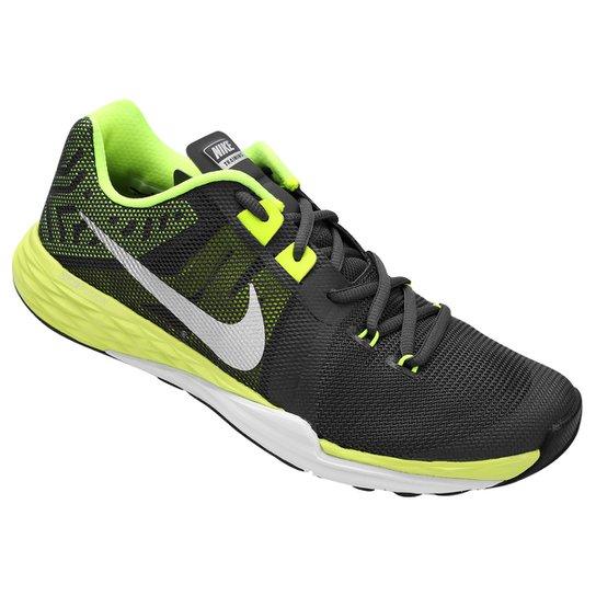 31fe4a9aa5 Tênis Nike Train Prime Iron DF Masculino - Preto e Verde Claro ...