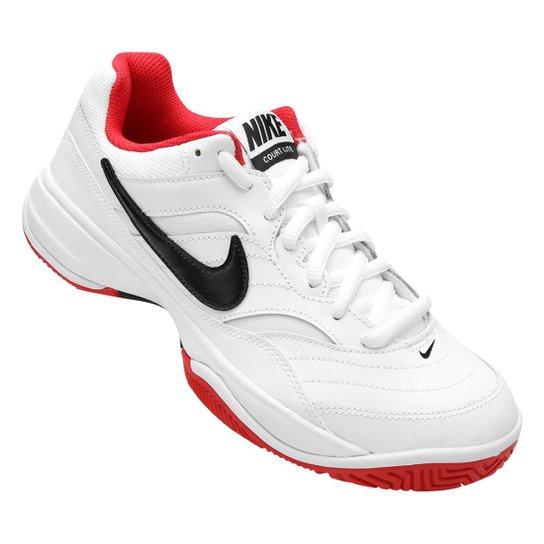 Tênis Nike Court Lite Masculino - Branco e Vermelho - Compre Agora ... 20c695cd5820b