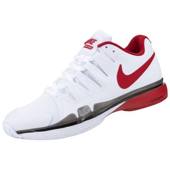 Tênis Nike Zoom Vapor 9.5 Tour - Branco+Vermelho abe50aa3316a8