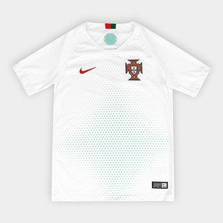 9d317f3b48 Camisa Seleção Portugal Infantil Away 2018 s n° Torcedor Nike