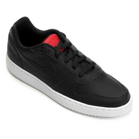 Tênis Nike Ebernon Low Masculino - Preto - Compre Agora  96674ff35e4
