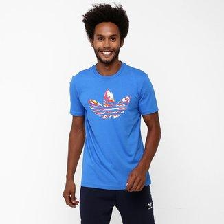 Camiseta Adidas Originals Magic Camo Trefoil 5fdf9ba7bb14d