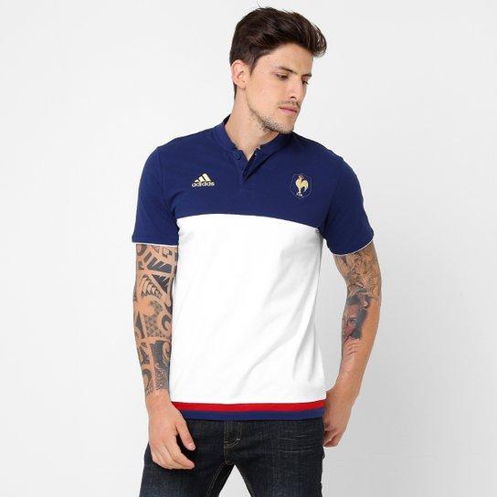 Camiseta Adidas Polo FFR France - Compre Agora   Netshoes 1df8848605