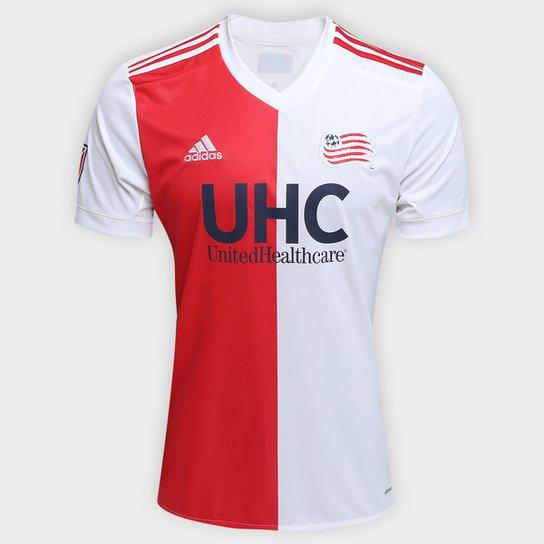 8f6928d84 Camisa New England Revolution MLS Away 17 18 s nº Torcedor Adidas Masculina  -