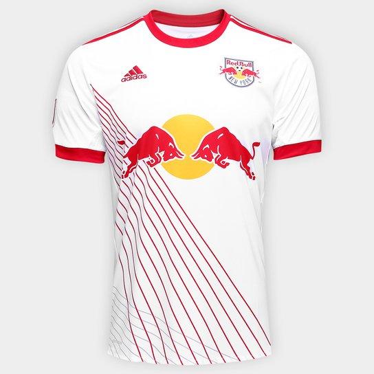 42cdc2f458a09 Camisa New York Red Bull Home 17 18 s nº Torcedor Adidas Masculina ...