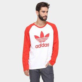 Blusa Adidas Trefoil - Compre Agora  2cdaae16f1c