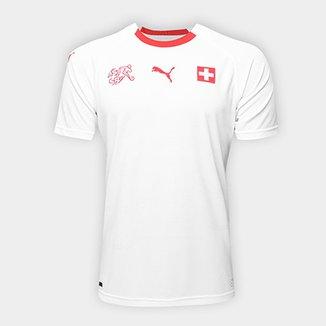 Camisa Seleção Suíça Away s n° 2018 - Torcedor Puma Masculina 16ab702c2e61c