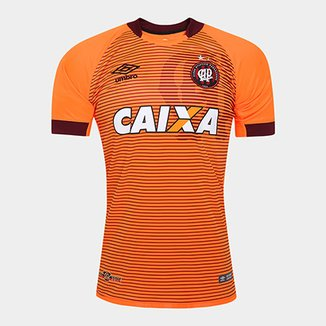 7a05f07495 Camisa Athletico-PR II 17 18 s nº Torcedor Umbro Masculina