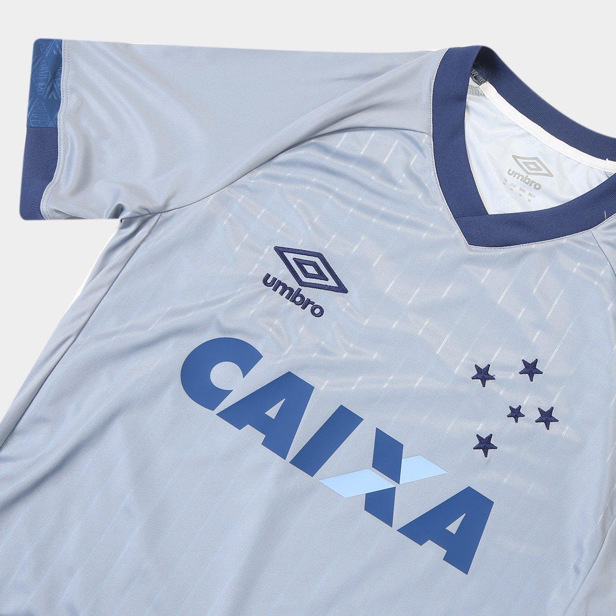 Camisa Cruzeiro III 18/19 s/n - Torcedor Umbro Masculina - Tam: GG - 3