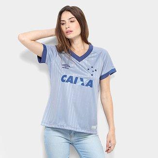 85a53bb024 Camisa Cruzeiro III 18 19 s n - Torcedor Umbro Feminina