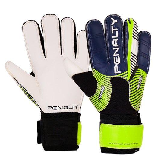 Luva Penalty Futebol Delta Training VI - Preto+Verde Claro a71401d307f07