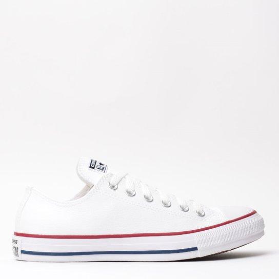 78c89c3763e Tênis Converse Chuck Taylor All Star - Branco e Vermelho - Compre ...