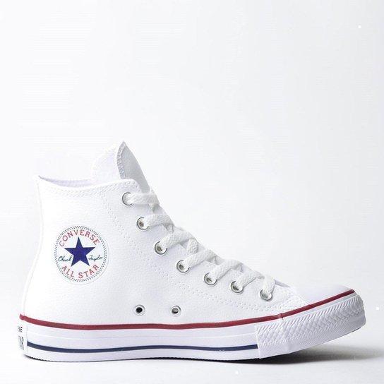 17962f1b22f Tênis Converse Chuck Taylor All Star - Branco+Vermelho