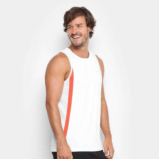 Regata Rainha Run Masculina - Branco+Vermelho bce498bd27a