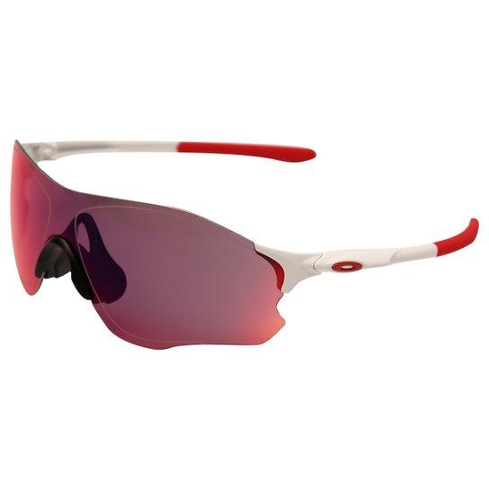 ca3da18cb3765 Óculos Oakley Evzero Path Prizm Road - Branco+Vermelho