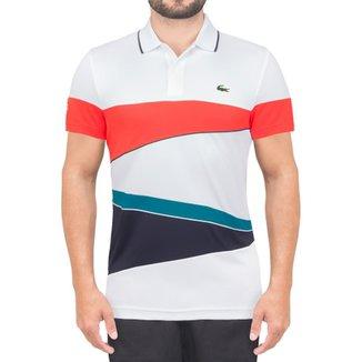 Camisa Lacoste Polo Fancy Tennis e08f4b0b7c