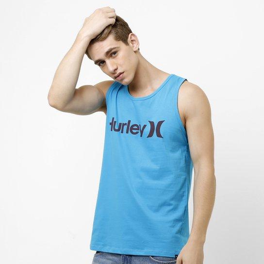 0b1ee9028e Regata Hurley One   Only Masculina - Azul Turquesa