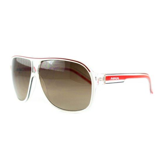 c14b85ece Óculos Atitude De Sol Mma - Branco+Vermelho