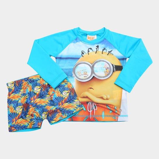 Conjunto Infantil Tip Top Praia Minions Masculino - Compre Agora ... 8e40786cef
