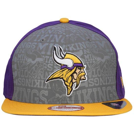 Boné New Era 950 NFL Official Draft Minnesota Vikings - Compre Agora ... b306900cbc295