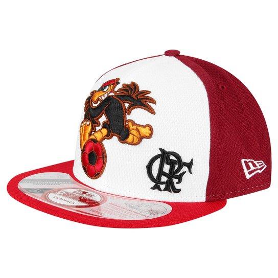 Boné New Era Mascote Flamengo 950 - Branco+Vermelho ae72315df3c
